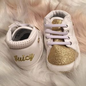 Juicy Couture 3 Month Baby Girl shoes.